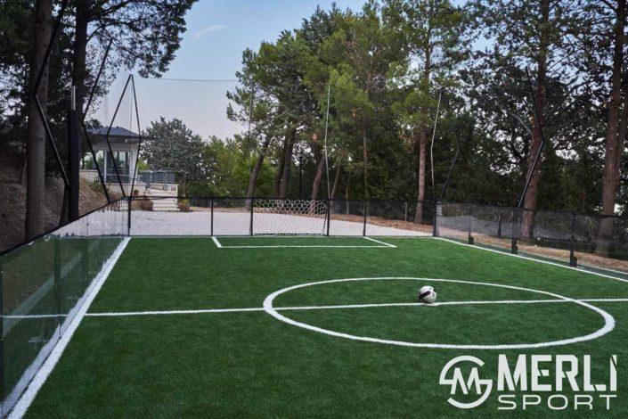 calcio in gabbia abitazioni private