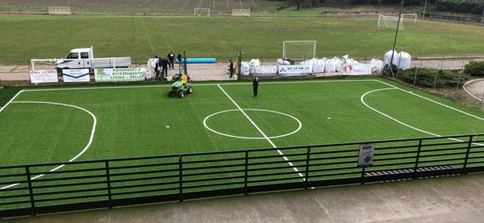 costruzione calcio a 5 brescia