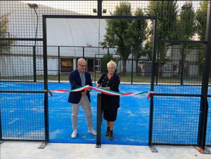 inaugurazione campo padel forlì
