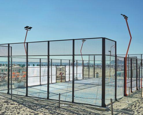 122 Campi da padel realizzati in Italia