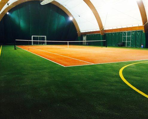 31 Campi da tennis realizzati in Italia