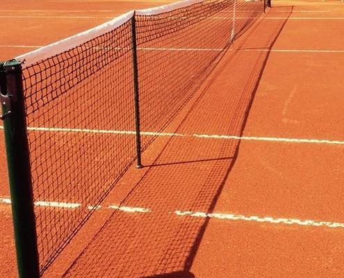 Campi da tennis in terra rossa evoluta